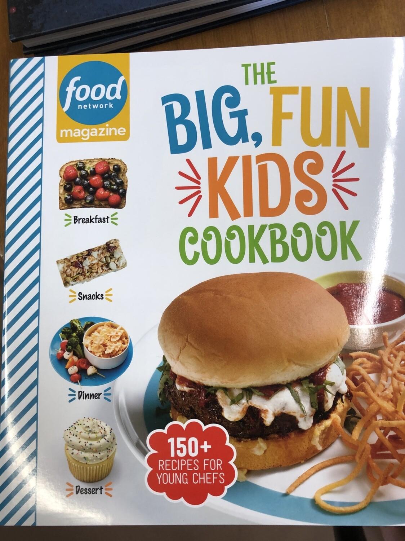 The Big Fun Kids Cookbook