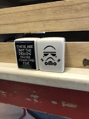 Salt and Pepper Shakers - Star Wars