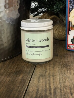 Winter Woods Candle