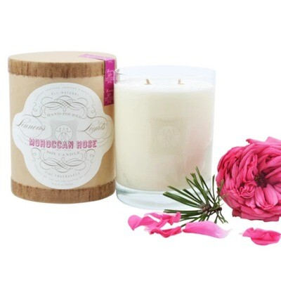 Linnea's Lights Moroccan Rose 2-Wick Candle
