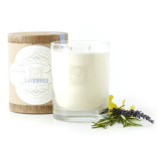 Linnea's Lights Lavender 2-Wick Candle