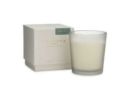 Linnea's Lights Reserve Light White Sage 2-Wick Candle