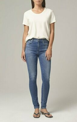 Classic Light Blue Mid Rise Skinny Jean