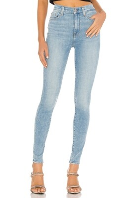 Light Wash High Waist Skinny Jean