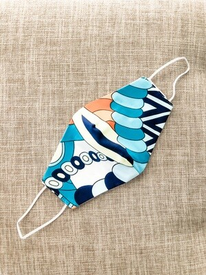 Colorful Whimsy Cotton Face Mask