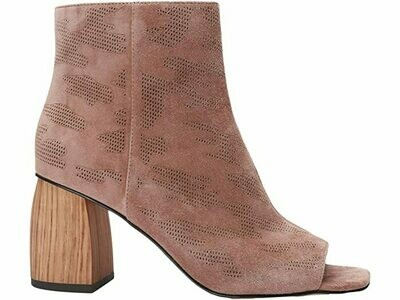 Desert Taupe Camouflage Suede Bootie