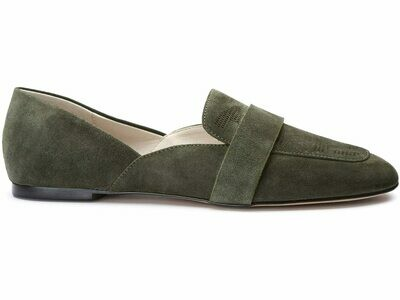 Sass Olive Green Loafer