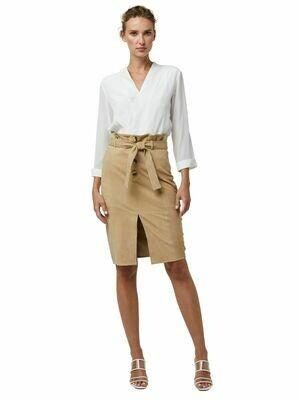 Vanguard Tan Suede Skirt