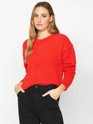 Punk Red Eyelash Super Soft Pullover