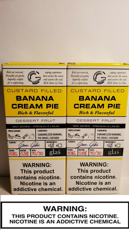 Glas Juices - Banana Cream Pie