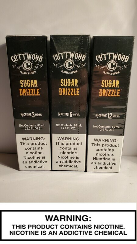 Cuttwood Vapes - Sugar Drizzle