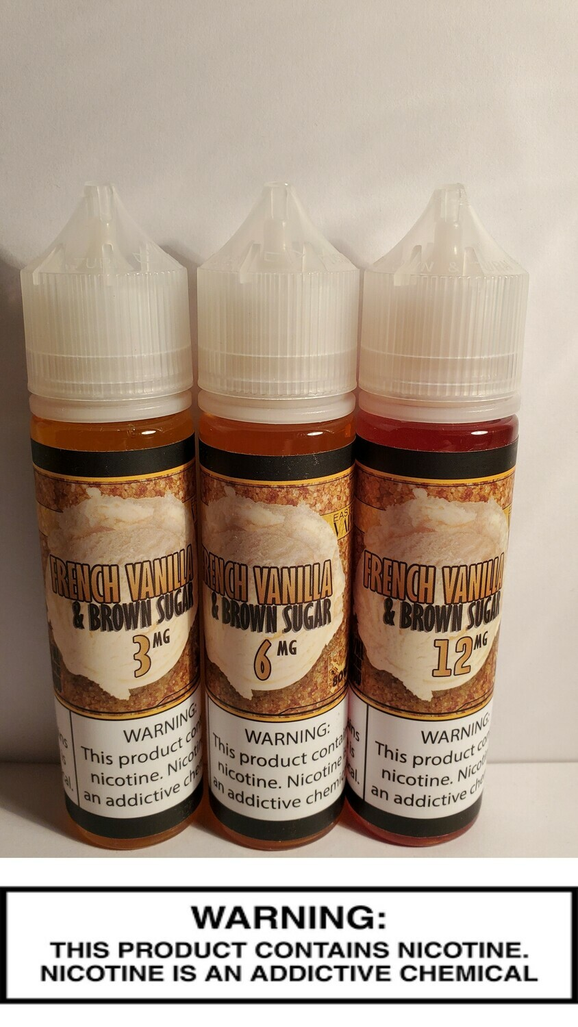 Giant Vapes - French Vanilla Brown Sugar