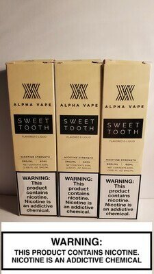Alpha Vapes - Sweet Tooth