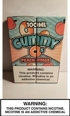 Gummy O's - Peach Rings