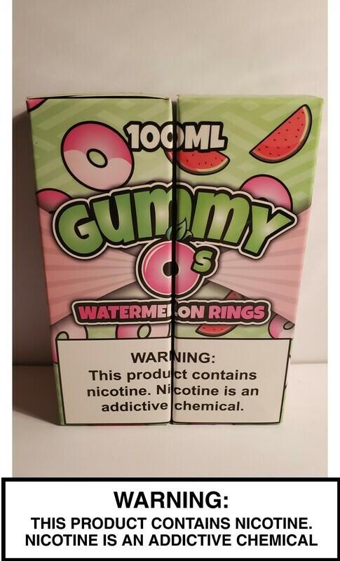Gummy O's - Watermelon Rings