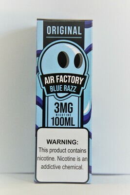 Air Factory- Blu Rasp