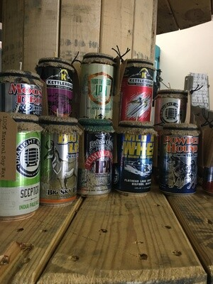 Beer Can-dles