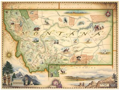 Montana Framed Display