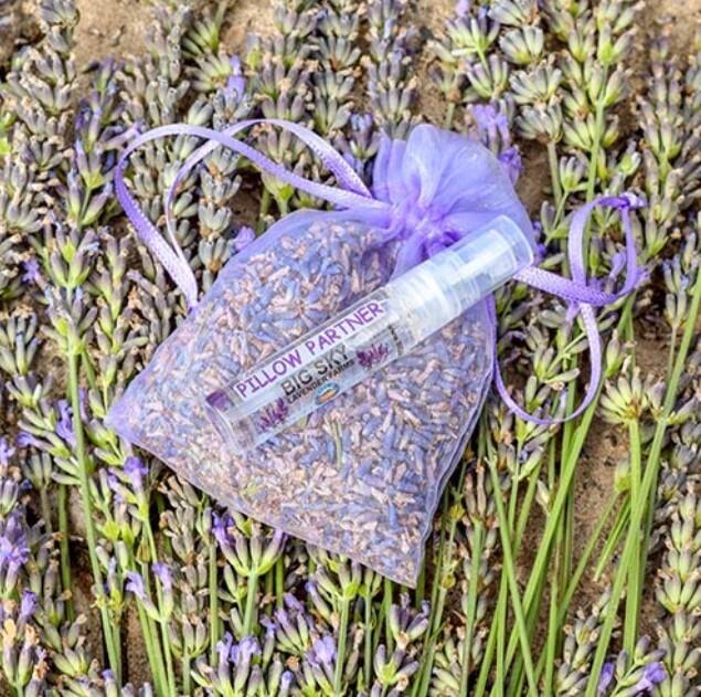 Sachets w/lavendar spray