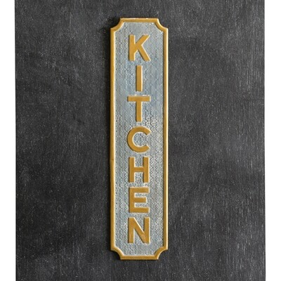 CTW - Kitchen Metal Wall sign
