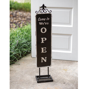 CTW - Open/Close Standing Sign