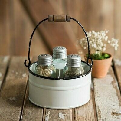 CTW - Round Bucket salt and pepper 811322
