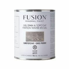 Fusion Gel Stain & Topcoat. stain  Greystone