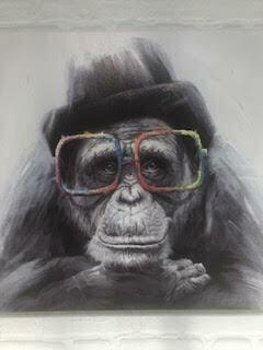 Fun Gorilla Print