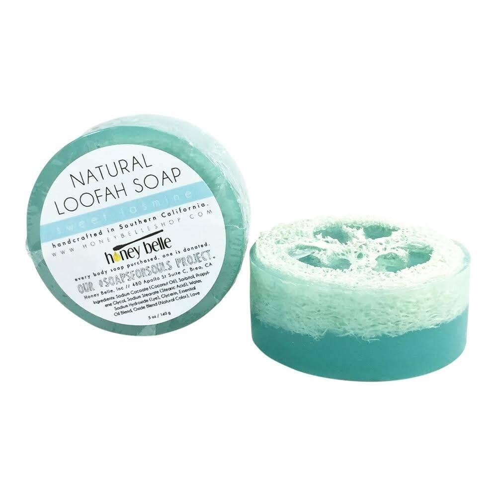 HB Loofah Soap - Sweet Jasmine