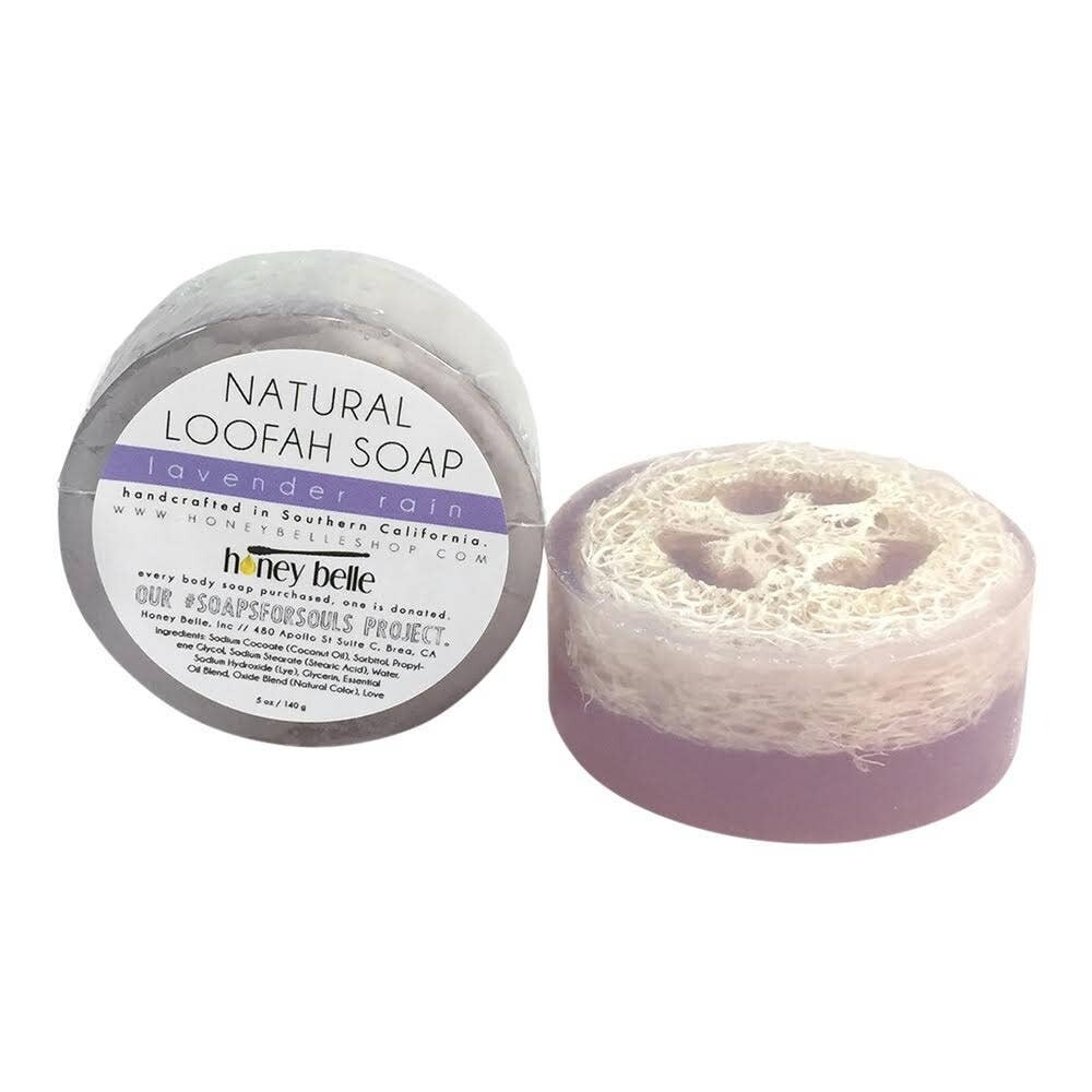 HB Loofah Soap - Lavender Rain