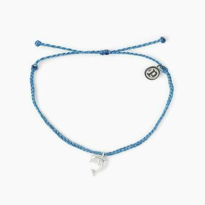PV Animal Cham Bracelet - Dolphin Silver