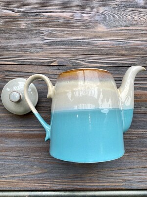 Blue Horizon Reactive Glaze Tea Pot