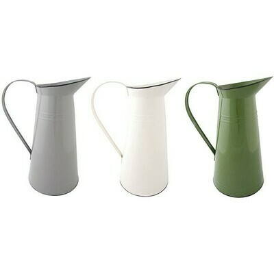Enamel Water Jug Colors Sm