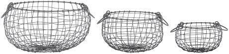 Wire Belly Basket