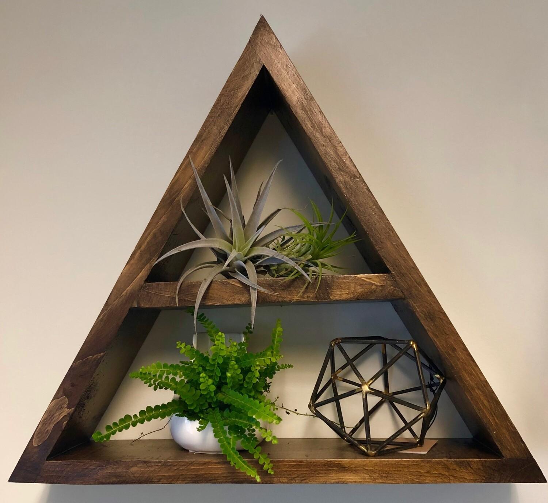 Triangle Wall Shelf
