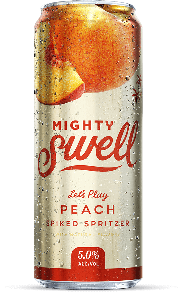 Mighty Swell Hard Seltzer Peach - 1 CAN