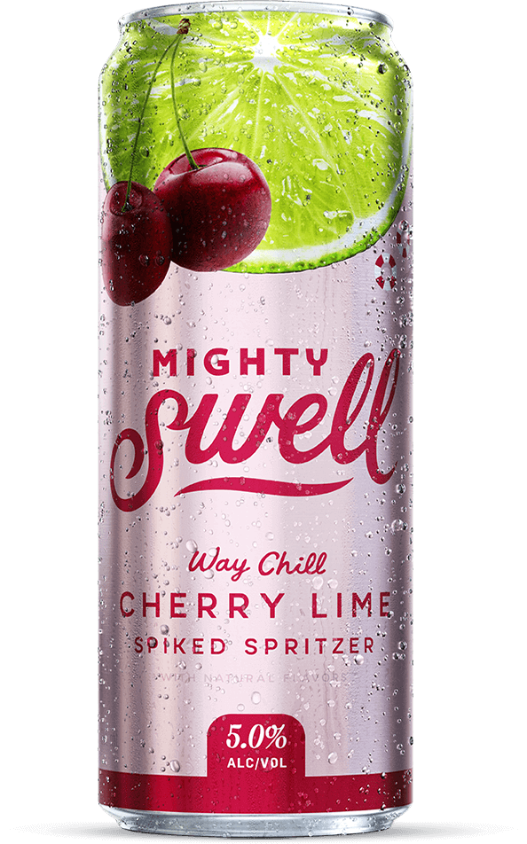 Mighty Swell Hard Seltzer Cherry Lime - 1 CAN