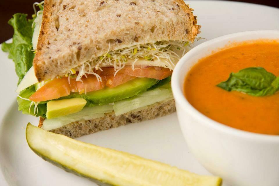 Soup and Sandwich/Wrap