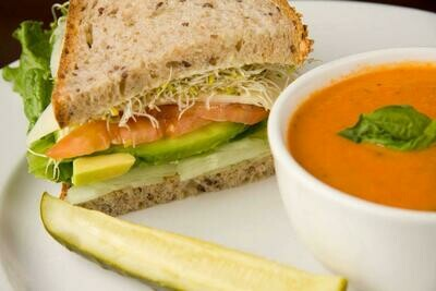 Soup and Sandwich/Wrap