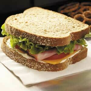 Hearty Ham Sandwich