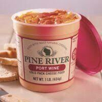 Cheese Spread, Pine River Port Wine