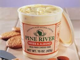 Cheese Spread, Pine River Swiss and Almond