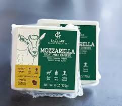 Goat Cheese, Mozzarella
