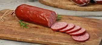 Summer Sausage, Mustard Seed & Garlic Summer Sausage - Whole