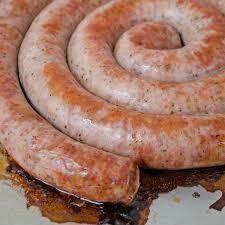Smoked Bratwurst- Farmer Sausage- 1 Ring- ~1.5#