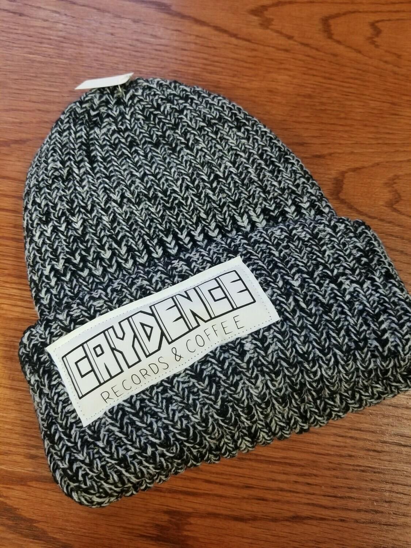 Gray Textured Winter Cap