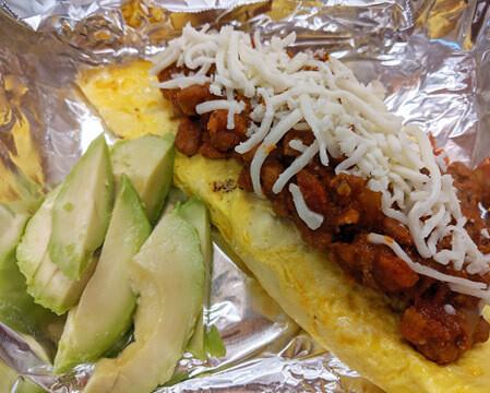 Chili Omelet (Keto)