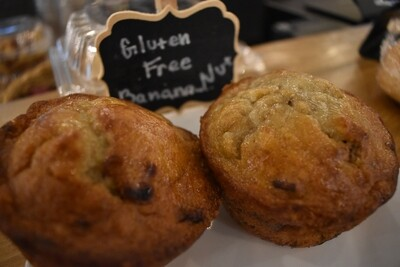 Gluten Free Banana Nut Muffin