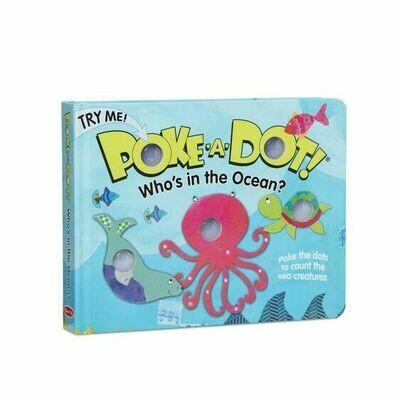 POKE-A-DOT WHO'S IN THE OCEAN