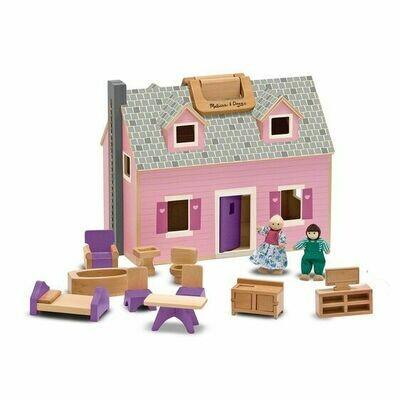 Fold and Go Doll House